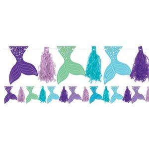 Mermaid Wishes Garland – Mermaid Party Supplies