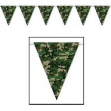 CAMO BUNTING FLAGS