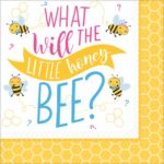 NA:What Will It Bee Napkins 33cm 16