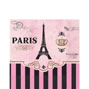 Paris Party Beverage Napkins – Paris Party