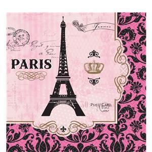 Paris Party Napkins – Paris Party