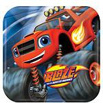 Plates – Blaze and the Monster Machine Party Supplies
