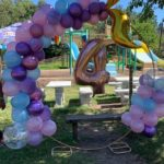 Balloon Hoop Half plain colours