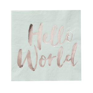 Hello World – Napkins