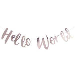 Hello World – Back Drop – Hello World