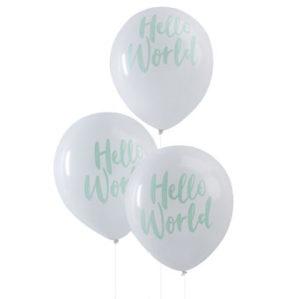 Hello World – Balloons