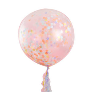 Pastel Party – Giant Pastel Confetti Balloons