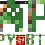 Minecraft Banner – Minecraft Party Supplies