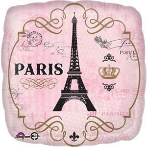 Paris Party Foil Balloon – Paris Party