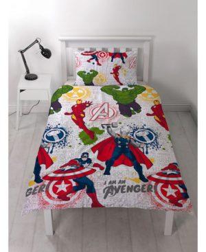 Avengers Marvel Mission Duvet – Avengers Bedding