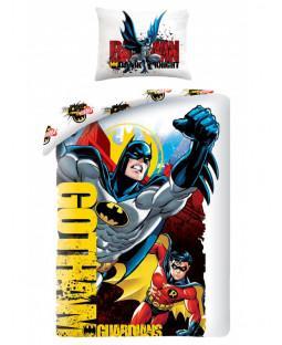 Batman And Robin Gotham Single Duvet Cover Set – Batman Bedding