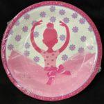 Ballerina Plates 10pc