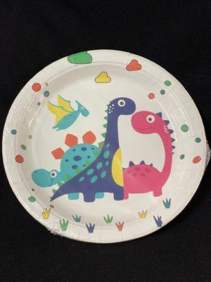Baby Dino Plates 10pc