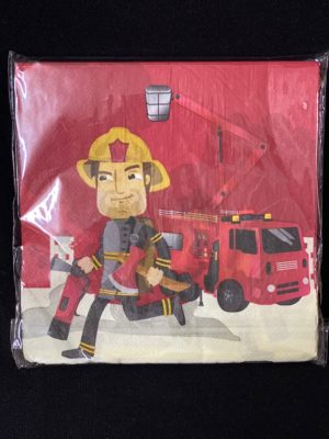 Fireman Serviettes 20pc