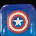 Captain America Plates 10pc 23cm