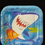 Shark Plates 18cm 10pc