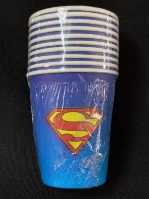 Superman Cups 10Pc