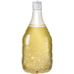 39 INCH FOIL GOLDEN BUBBLY WINE BOTTLE 1CTP