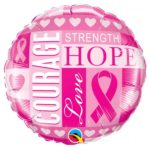 18 INCH FOIL BREAST CANCER INSPIRATION 1CTP
