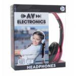 AV ELECTRONICS HEADPHONES PINK