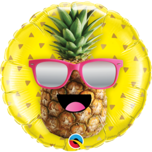 18 INCH FOIL MR COOL PINEAPPLE 1CTP