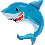 36 INCH FOIL SMILING SHARK 1CTP