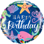 18 INCH FOIL RND FANTASTICAL FUN HAPPY BDAY 1CTP