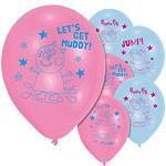 Latex Balloons – Peppa Pig Party