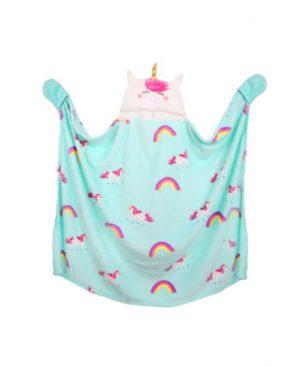 Unicorn Hooded Blanket – Unicorn Duvet