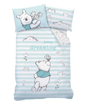 Winnie The Pooh Butterfly Single Duvet Cover Set – Winnie the Pooh Bedding