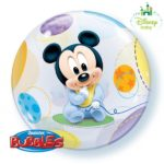 22 INCH SINGLE BUBBLE BABY MICKEY 1CTP