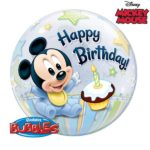 22 INCH SINGLE BUBBLE MIC 1ST BDAY 1CTP