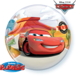 22 INCH SINGLE BUBBLE LIGHTNING MCQUEEN&MATER 1CTP