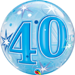22 INCH SINGLE BUBBLE STAR BURST SPARK AGE 40 1CTP