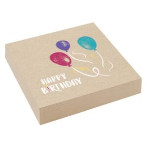 NA:My Birthday Party Napkins 33cm 20