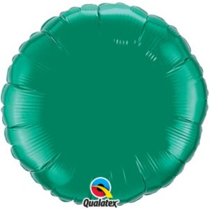 18 INCH FOIL EMERALD GREEN PLAIN 1CTL