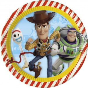 TOY STORY 4 PAPER PLATES 23CM 8CT