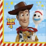 TOY STORY 4 TWO-PLY PAPER NAPKINS 33X33CM 20CT