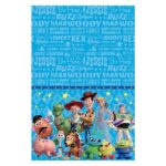 TOY STORY 4 PLASTIC TABLECOVER 120X180CM 1CT