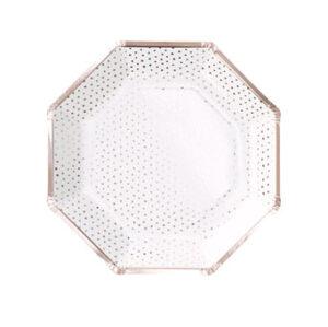 Pick & Mix – Rose Gold – Plate – Spotty – Rose Gold