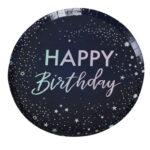 StarGazer Birthday – Paper Plates – Happy Birthday Foiled