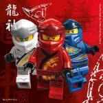 LEGO NINJAGO 2PLY PAPER NPKNS 33X33CM 20CT