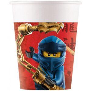 LEGO NINJAGO PAPER CUPS 200ML 8CT