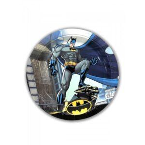 BATMAN PAPER PLATES LARGE 23CM 8CT