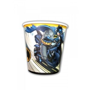 BATMAN PAPER CUPS 200ML 8CT