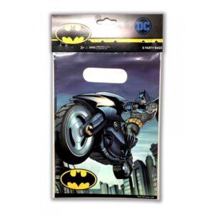 BATMAN PARTY BAGS 6CT