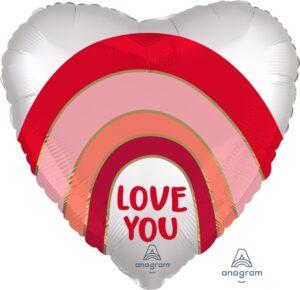 18:Satin Love You Rainbow