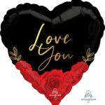 18:Love You Romantic Roses