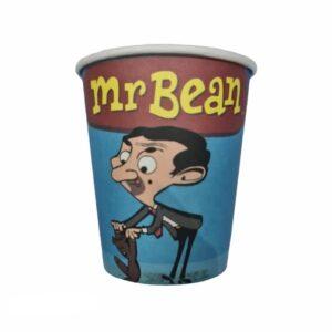 Paper Cups Mr Bean