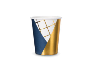 Blue & Gold Party Cups